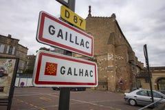 Gaillac, Francia Immagine Stock Libera da Diritti