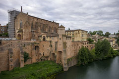 Gaillac, Francia Imágenes de archivo libres de regalías