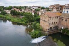 Gaillac, Frankrijk Royalty-vrije Stock Foto's