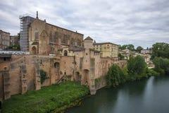 Gaillac, Frankrijk Royalty-vrije Stock Fotografie