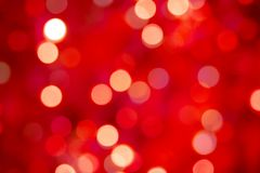 Gaily of color christmas light Stock Photography
