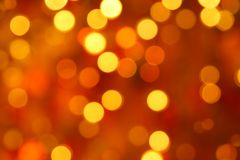 Gaily of color christmas lighting Stock Photography