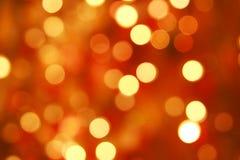 Gaily van het licht van kleurenKerstmis Stock Afbeelding