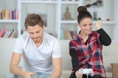 Gain d'un jeu vidéo Photo libre de droits
