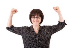 Gain de femme photo libre de droits