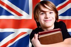 Gain de l'anglais Images libres de droits