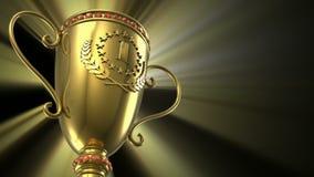 Gain de récompense et concept de championnat banque de vidéos