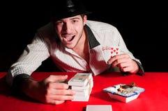 Gain in Gambling Stock Photos