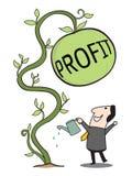 Gain profit Royalty Free Stock Photos