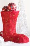 Gaine rouge de Noël Images stock