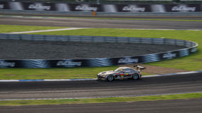 GAINER DIXCEL SLS of GAINER in GT300 Races at Burirum, Thailand Stock Photos