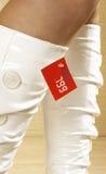 Gaines blanches Photo libre de droits