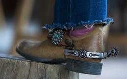 Gaines de cowboy Image libre de droits