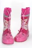 Gaines de pluie roses Photographie stock