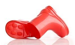 Gaines rouges de Wellie image libre de droits