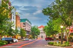 Gainesville, Florida, città di U.S.A. immagini stock libere da diritti