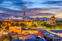 Gainesville, Florida, USA. Downtown skyline royalty free stock photos