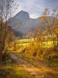 Gainfeld w Bischofshofen w jesieni zdjęcie royalty free