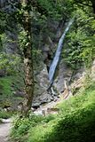 Gainfeld Waterfall (in Bischofshofen, Austria) Royalty Free Stock Photos