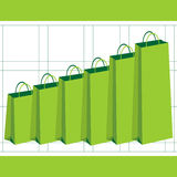 Gaining purchasing power stock illustration