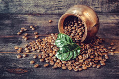 Free Gains Of Roasted Coffee Royalty Free Stock Photography - 34726867
