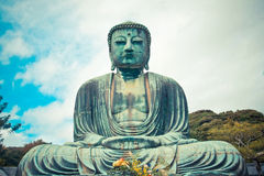 Gaint Japannese Buddha Royalty Free Stock Images