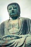 Gaint japansk Buddha på Kamakura Fotografering för Bildbyråer