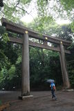 Gaint Torii gate Royalty Free Stock Photos