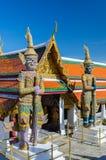 Gaintbeschermer in Wat Phra Kaew, Tempel van Emerald Buddha Stock Fotografie