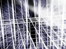 Gaiola de Faraday - fundo do fio ilustração stock