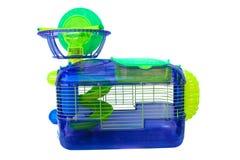 Gaiola de Hampster Imagem de Stock Royalty Free