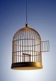 Gaiola de pássaro ilustração royalty free