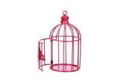 Gaiola de pássaro Imagens de Stock