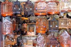 Gaiola de pássaro chinesa Fotografia de Stock Royalty Free