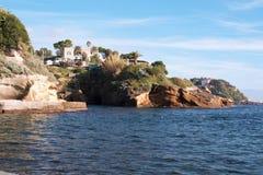 Gaiola, Nápoles Fotografía de archivo libre de regalías