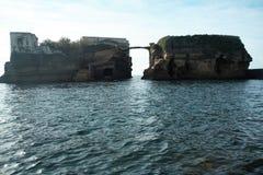 Gaiola, Naples Images libres de droits