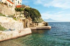 Gaiola, Posillipo, Nápoles Fotografía de archivo libre de regalías