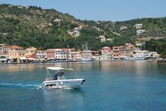 Gaios harbour, Paxos Royalty Free Stock Photography