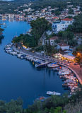 Gaios on the island of Paxos Stock Photo