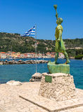 Gaios on the island of Paxos Royalty Free Stock Photos