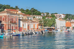 Gaios on Paxos Stock Photography