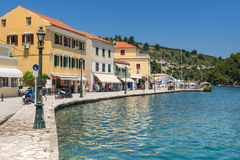 Gaios on Paxos Royalty Free Stock Photo