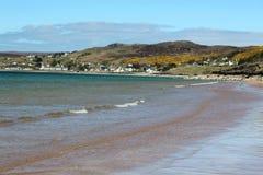 Gairloch海滩, Gairloch,西部苏格兰 免版税库存照片