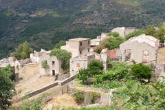 Gairo Vecchio, Sardinia, Itália Fotos de Stock