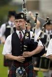 Gaitas - juegos de la montaña - Escocia Fotografía de archivo libre de regalías