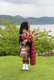 Gaitero escocés Imagen de archivo libre de regalías