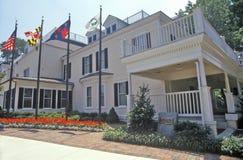 Gaithersburgstadhuis, Maryland Stock Foto's