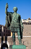 Gaius Julius Caesar. (13 July 100 BC – 15 March 44 BC) was a Roman general and statesman. Useful for leadership concepts Stock Image