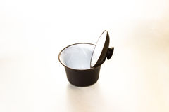 Gaiwan. The Chinese ceramic gaiwan for holding a tea ceremony on a white background Stock Photography
