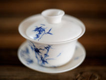 Gaiwan. Chinese tea cup for tea brewing Royalty Free Stock Images